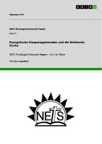 Cover Evangelische Diasporagemeinden und die Weltweite Kirche