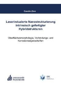 Cover Laserinduzierte Nanostrukturierung intrinsisch gefertigter Hybridstrukturen