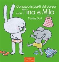 Cover Conosco le parti del corpo con Tina e Milo