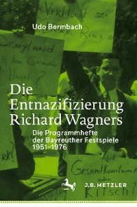 Cover Die Entnazifizierung Richard Wagners