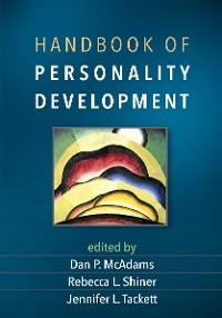 Cover Handbook of Personality Development