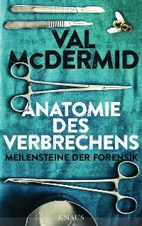 Cover Anatomie des Verbrechens