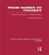 Cover From Homer to Tragedy