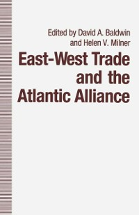 Cover East-West Trade and the Atlantic Alliance