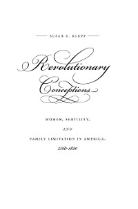 Cover Revolutionary Conceptions