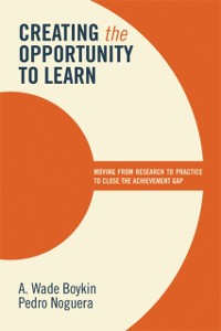 Cover Creating the Opportunity to Learn
