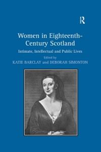 Cover Women in Eighteenth-Century Scotland
