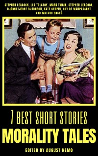 Cover 7 best short stories - Morality Tales