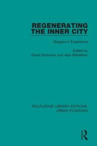 Cover Regenerating the Inner City