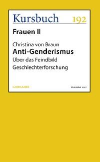 Cover Anti-Genderismus