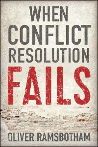 Cover When Conflict Resolution Fails