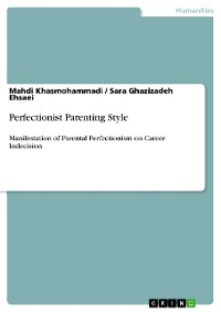 Cover Perfectionist Parenting Style