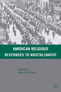Cover American Religious Responses to Kristallnacht