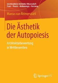 Cover Die Ästhetik der Autopoiesis