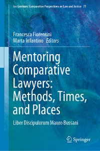 Cover Mentoring Comparative Lawyers: Methods, Times, and Places