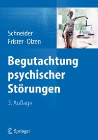 Cover Begutachtung psychischer Störungen