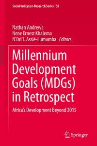 Cover Millennium Development Goals (MDGs) in Retrospect