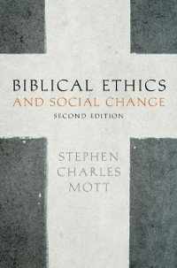Cover Biblical Ethics and Social Change