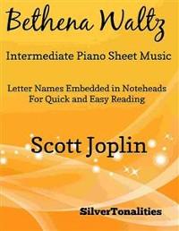 Cover Bethena Waltz Intermediate Piano Sheet Music