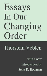 Cover Essays in Our Changing Order