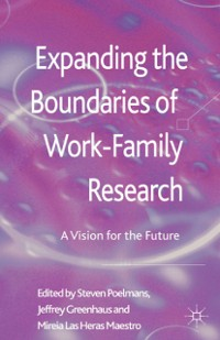Cover Expanding the Boundaries of Work-Family Research