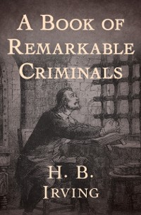 Cover Book of Remarkable Criminals