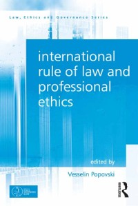 Cover International Rule of Law and Professional Ethics