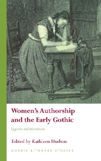 Cover Women's Authorship and the Early Gothic