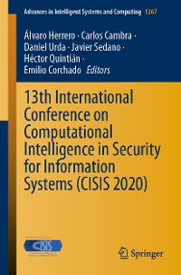 Cover 13th International Conference on Computational Intelligence in Security for Information Systems (CISIS 2020)