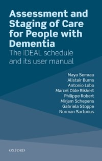 Cover Assessment and Staging of Care for People with Dementia
