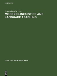 Cover Modern Linguistics and Language Teaching