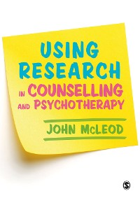 Cover Using Research in Counselling and Psychotherapy