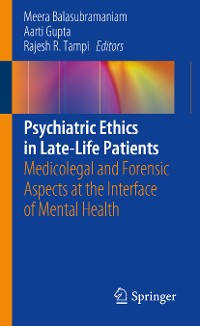 Cover Psychiatric Ethics in Late-Life Patients