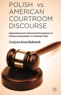 Cover Polish vs. American Courtroom Discourse