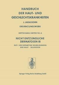 Cover Nicht Entzundliche Dermatosen III/A