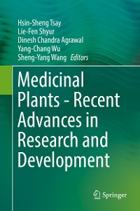 Cover Medicinal Plants - Recent Advances in Research and Development