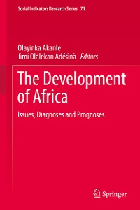 Cover The Development of Africa