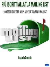 Cover Più Iscritti alla Tua Mailing List