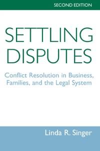 Cover Settling Disputes