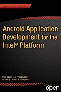 Cover Android Application Development for the Intel Platform