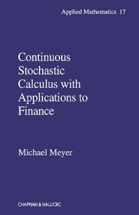 Cover Continuous Stochastic Calculus with Applications to Finance