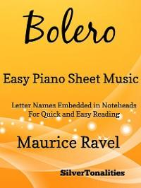 Cover Bolero Easy Piano Sheet Music