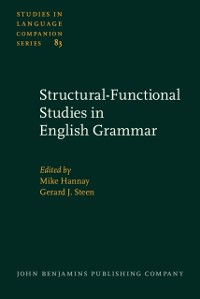 Cover Structural-Functional Studies in English Grammar