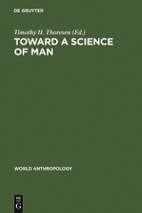 Cover Toward a Science of Man