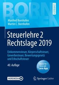 Cover Steuerlehre 2 Rechtslage 2019