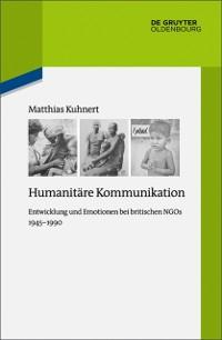 Cover Humanitare Kommunikation