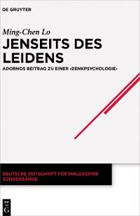 Cover Jenseits des Leidens