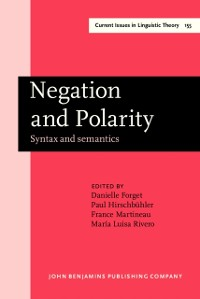 Cover Negation and Polarity