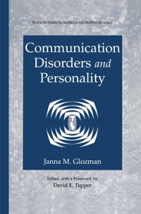 Cover Communication Disorders and Personality