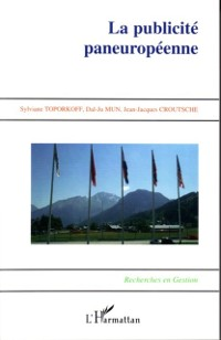 Cover Publicite paneuropeenne la